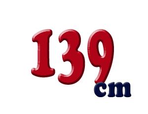 139cm