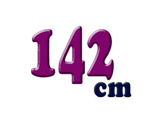142cm