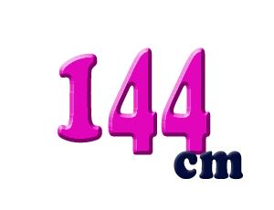 144cm