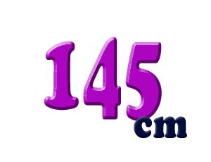 145cm