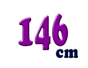 146cm