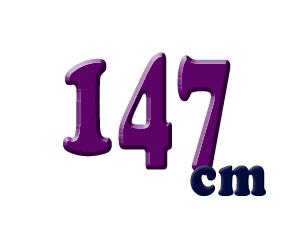 147cm