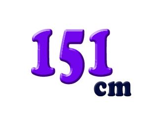 151cm