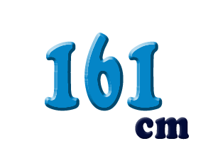 161cm