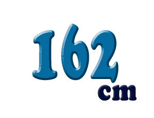 162cm