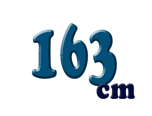 163cm